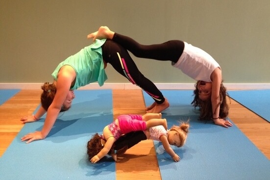 Downward Doll: Doll & Me Yoga