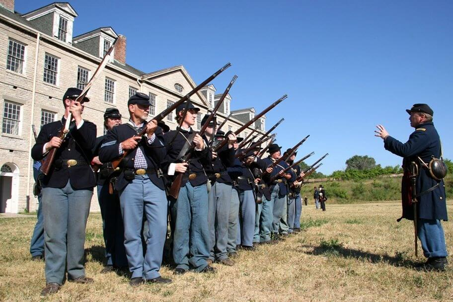 Civil War Days At The Fort