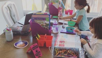 The Best Ways To Keep Kids Busy While They're Out Of School