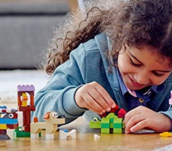 Daily Inspiration Guide For Those Home With Kids: Legos