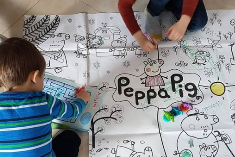 Daily Inspiration Guide for Those at Home with Kids: Peppa Pig Edition