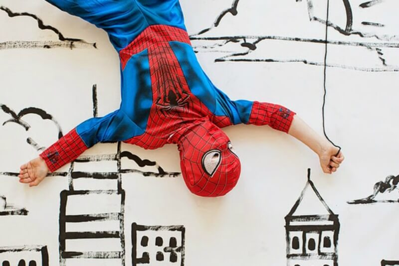 Daily Inspiration Guide for Those Home with Kids: Spiderman