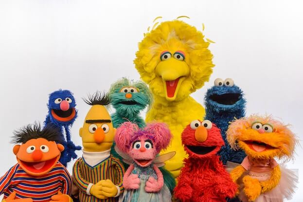 Main image courtesy Sesame Street.