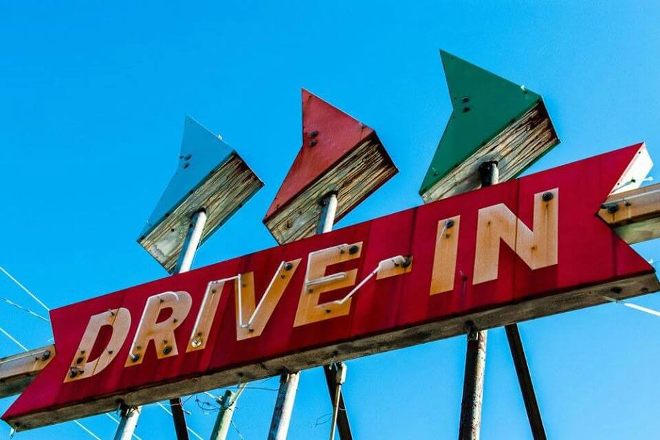 Drive-In Movie At Planet Rock