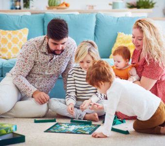 Daily Inspiration Guide For Those Home With Kids: Board Games