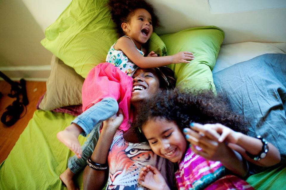 Http://mybrownbaby.com/2014/02/what-beautiful-black-moms-look-like-mater-mea-shows-our-glory/black-mom-laughing-with-kids/