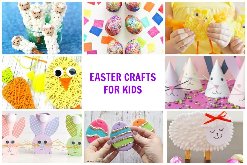 Cute + Easy Easter Crafts For Kids