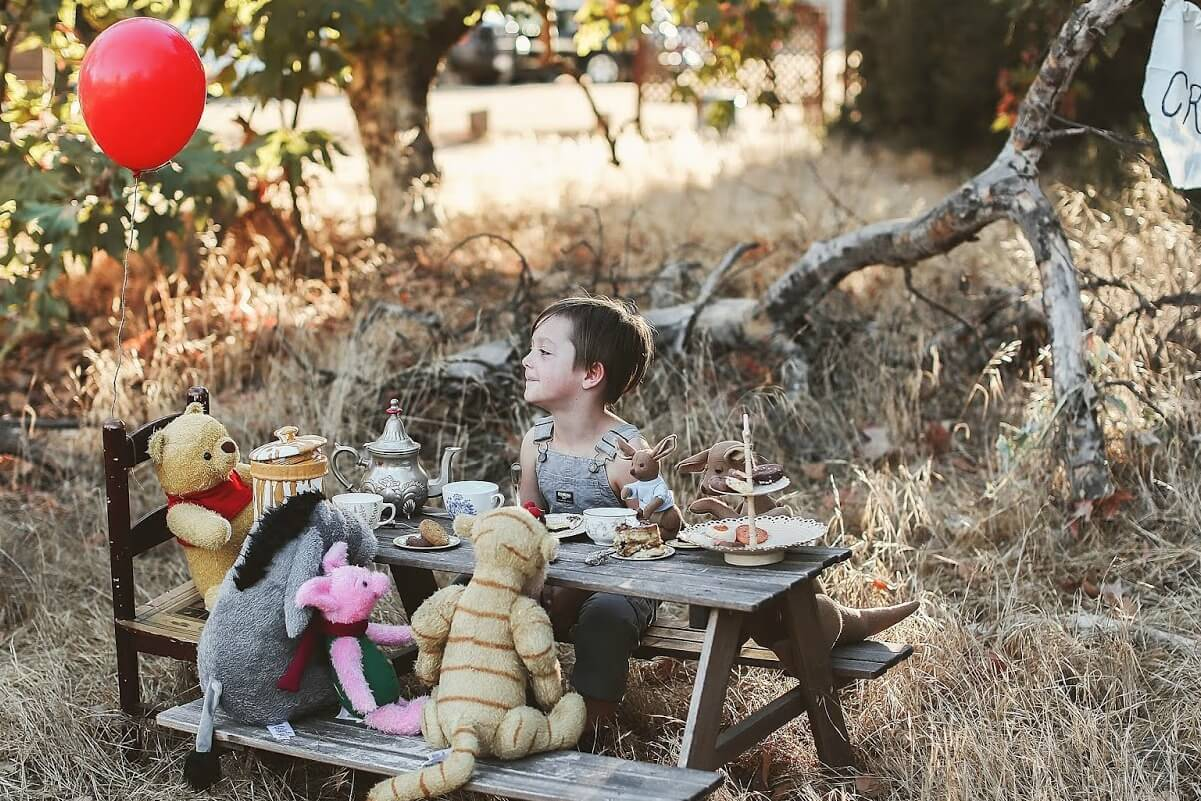 Daily Inspiration Guide For Those Home With Kids: Winnie The Pooh