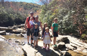 #MomLife With #1000HoursOutside Founder Ginny