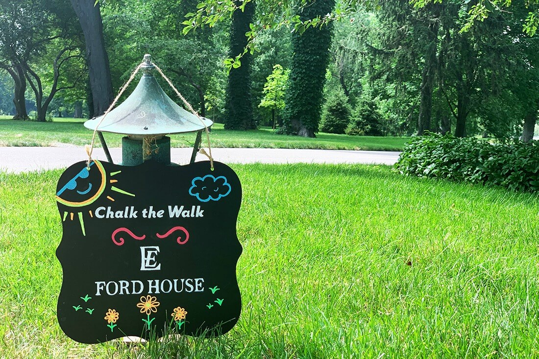 Chalk The Walk At Ford House