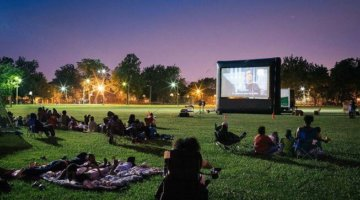 Where To Watch Outdoor Movies In Metro Detroit This Summer
