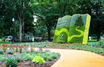 FREE Wizard Of Oz Inspired Garden In Holland