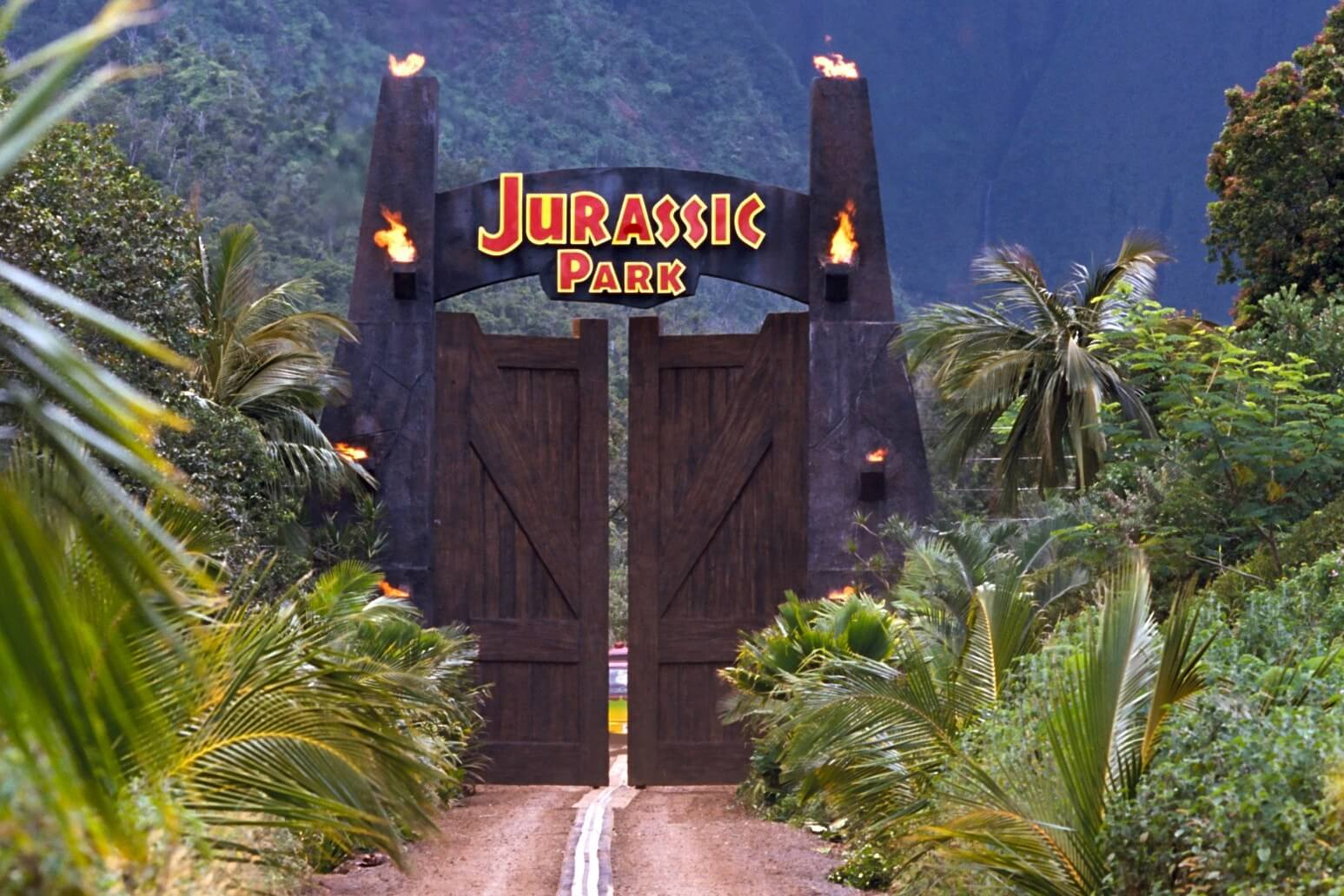 Jurassic Park: A 15 Mile Drive-in Production
