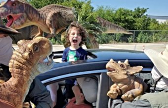 ANNOUNCED: Jurassic Quest Returns To DTE Energy Music Theatre This Summer