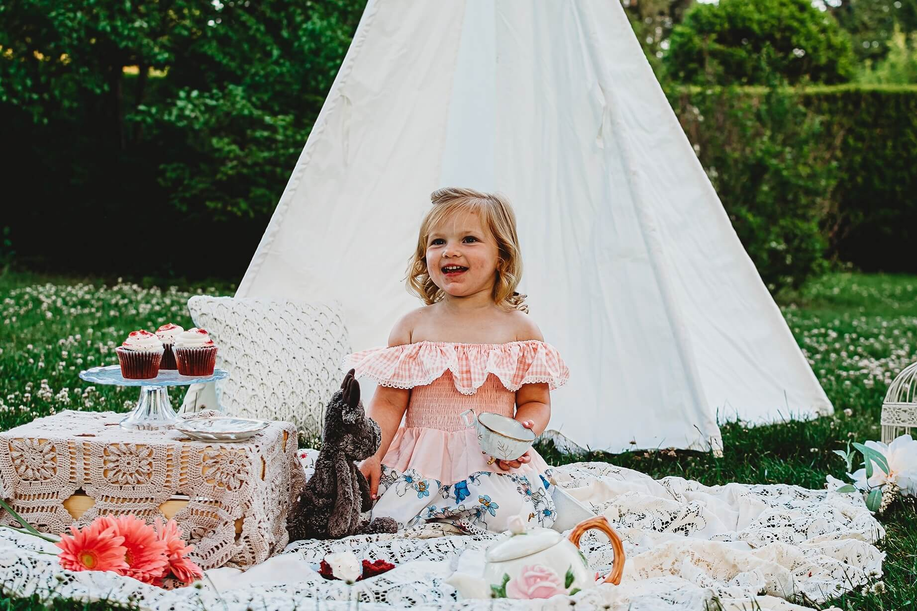 Mother & Daughter Tea – Picnic Style