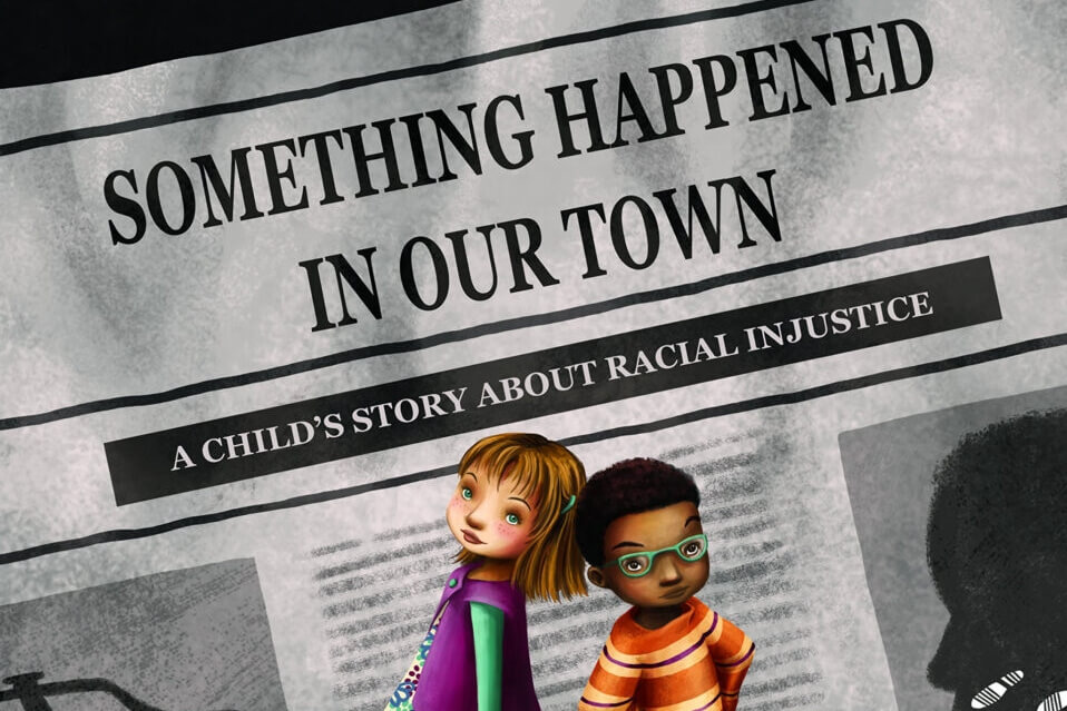 English-Arabic Storytime Online: Something Happened In Our Town