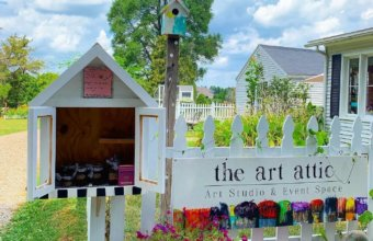 The Art Attic Offers Outdoor Classes + Special Events For Families