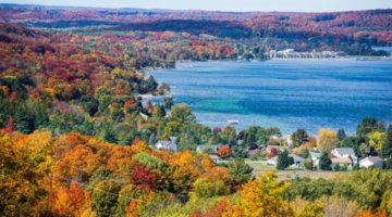 Family Road Trip: 5 Routes To Find Colorful Trees In Michigan