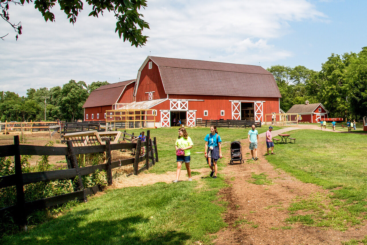 Maybury State Park Offers Nature Trails, Horse Rides, Playgrounds + Farm Fun For Families