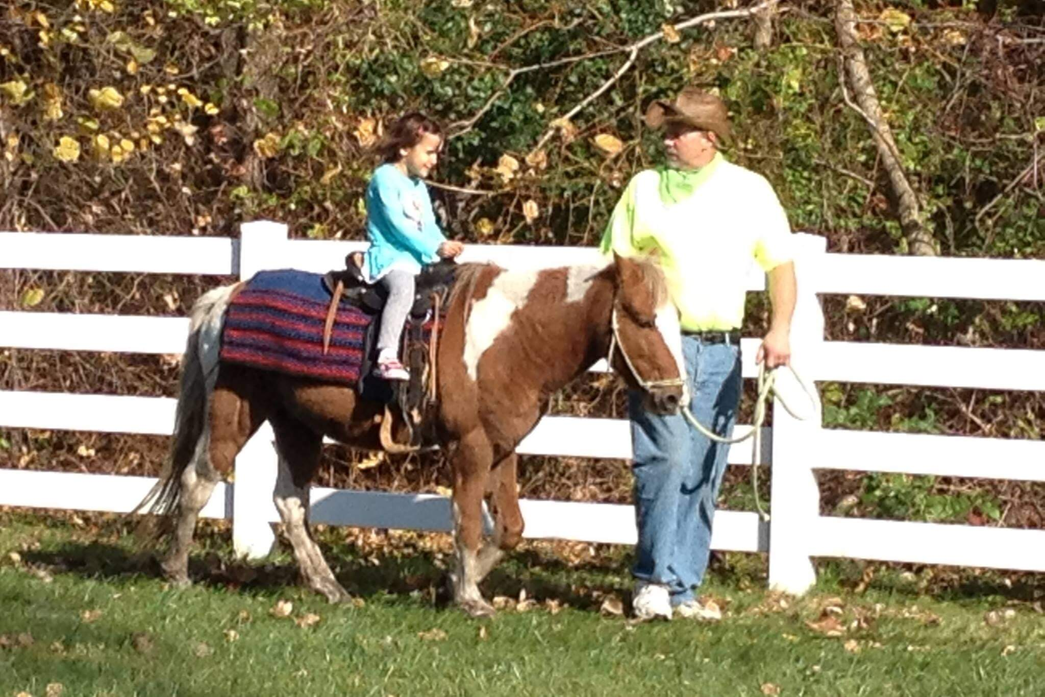 Pony Ride Weekend At Heritage Park Petting Farm