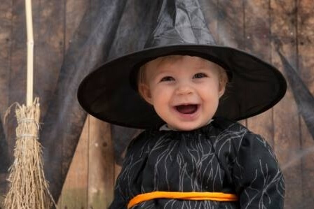 Toddler Trick-or-Treat At The Farm