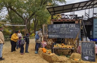 Detroit Farm + Cider Hosts Weekly Harvest Festival With Treats + Tractor Rides