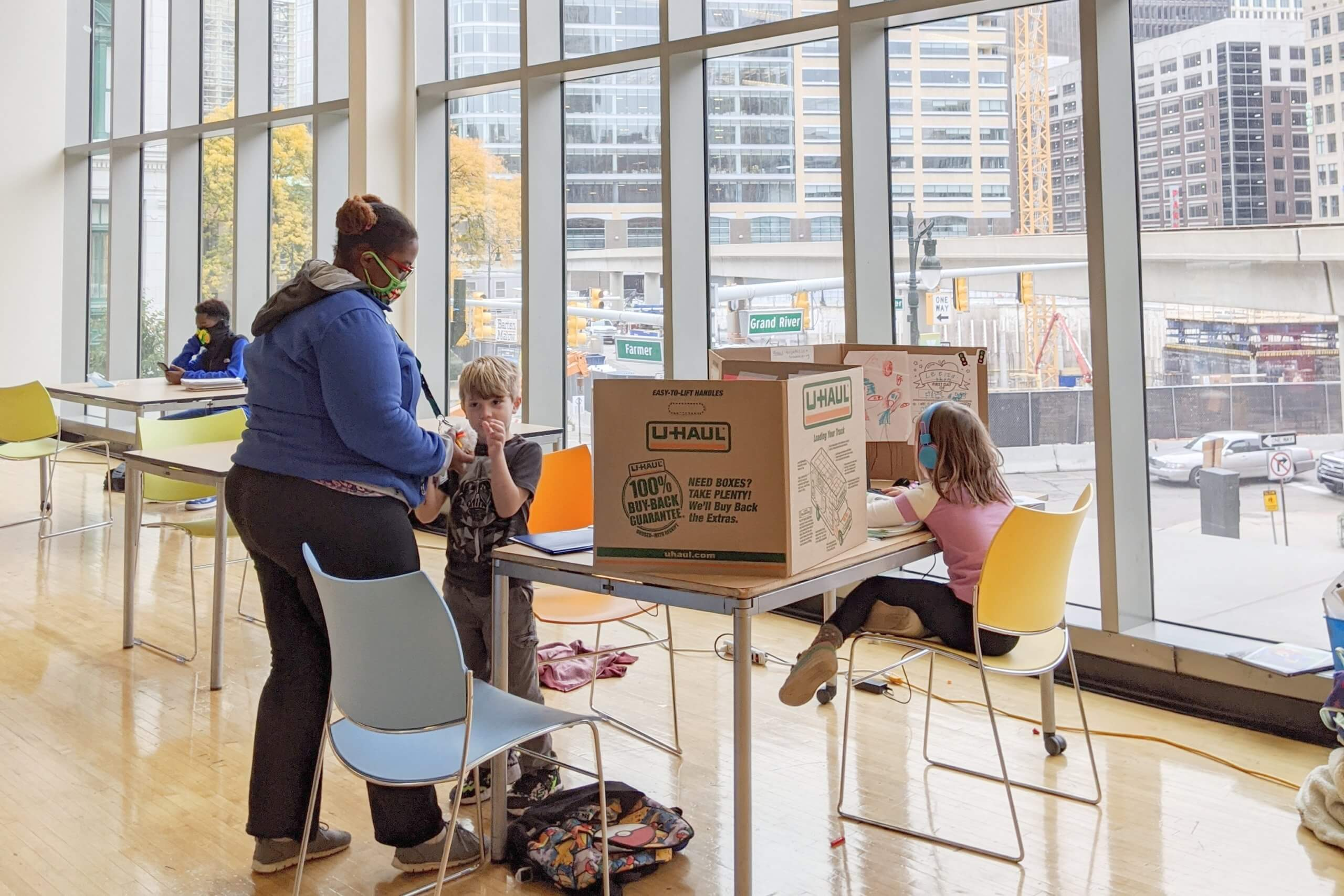 YMCA Offers Full-Time, In-Person Virtual Learning Assistance To Metro Detroit Families