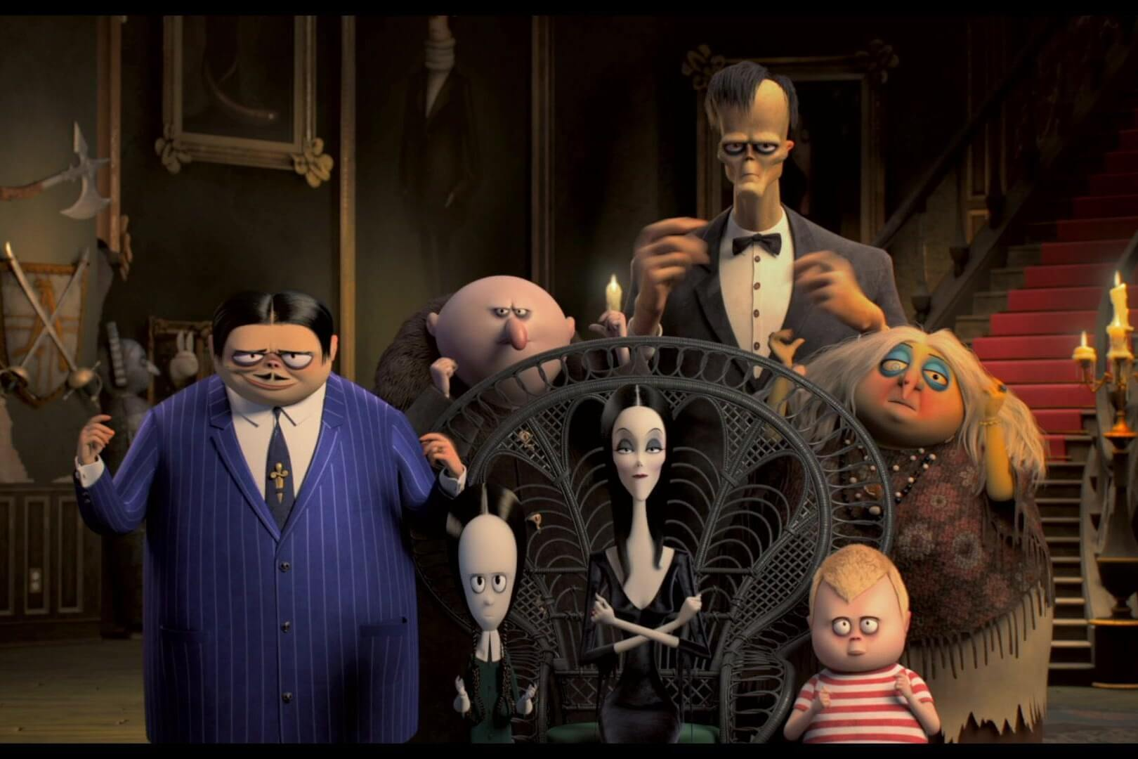 Drive-In Movie – Addams Family