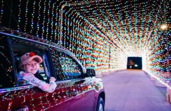 'Magical' Holiday Lights Drive-Thru Coming To Metro Detroit This Winter