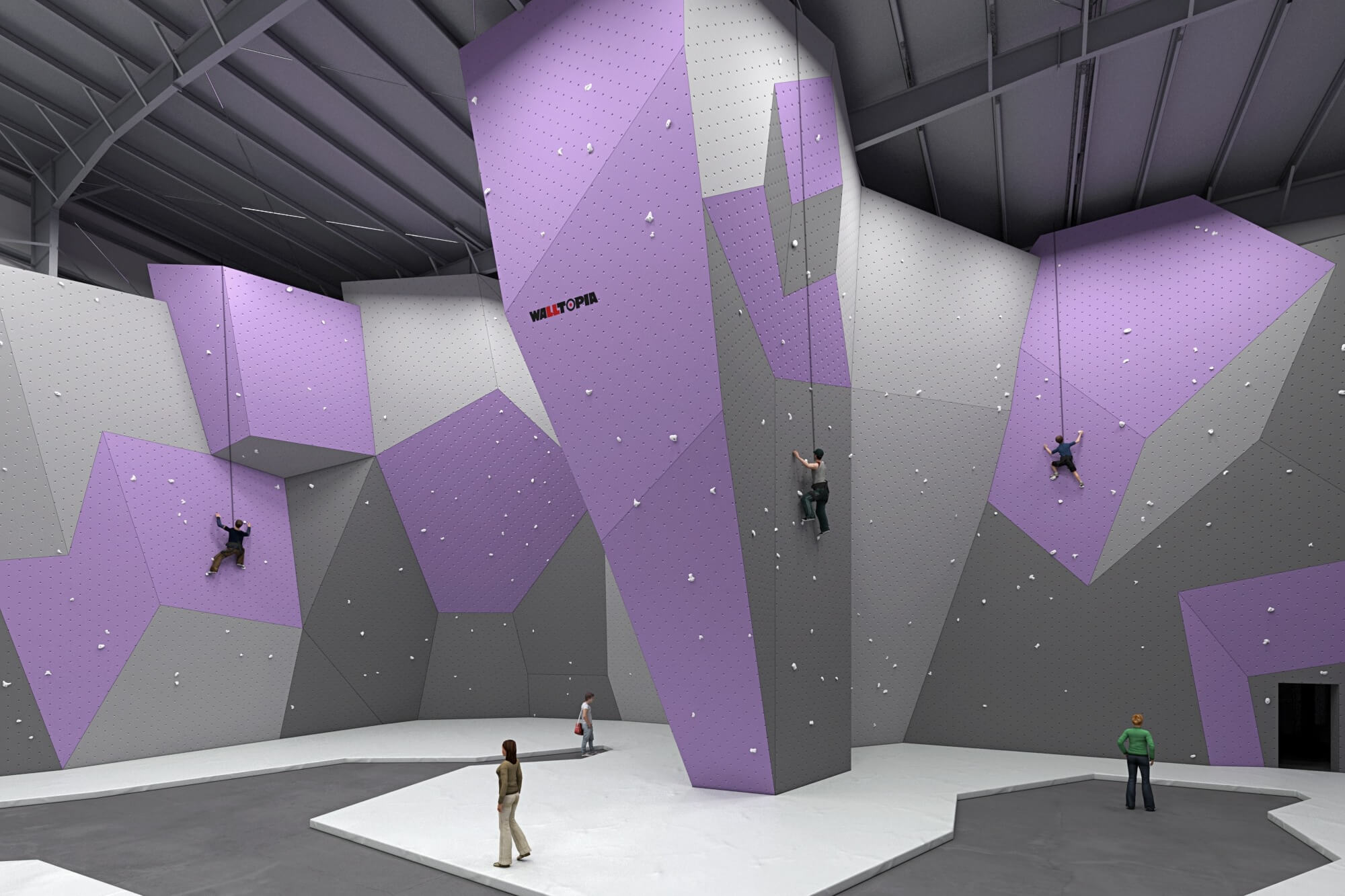 DYNO To Open First And Only Climbing Gym In Detroit's Eastern Market