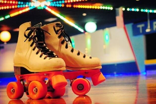 New Year's Day Glow Skate