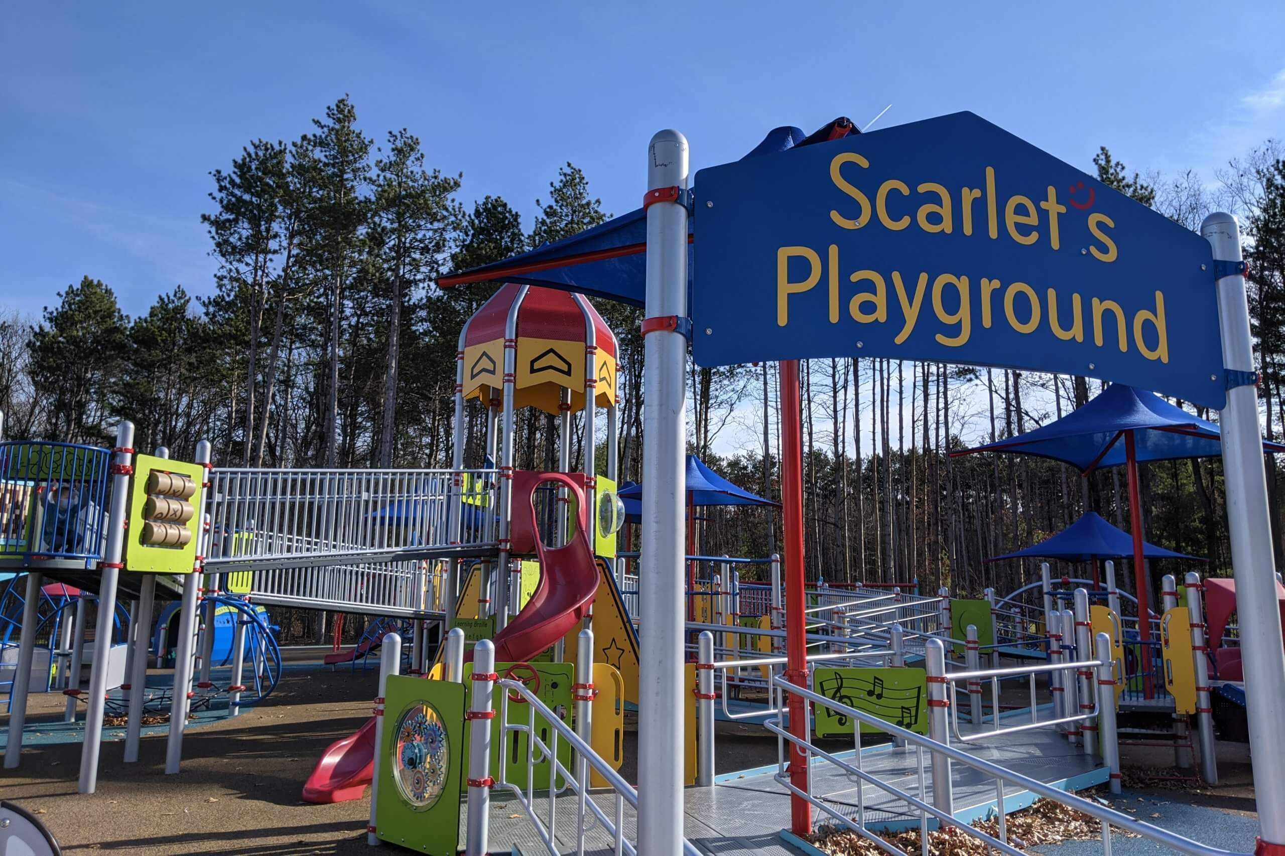 Scarlet's Playground Is A Michigan Park Designed For All Ages + Abilities