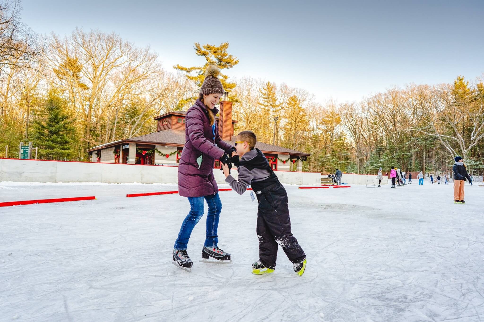 Michigan State Parks Offer Winter Activities + Fun For All Ages