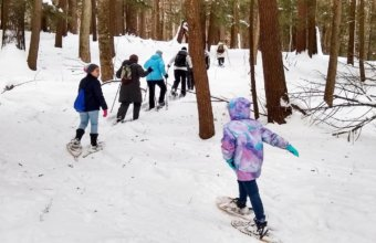 BEST PLACES TO SNOWSHOE IN METRO DETROIT