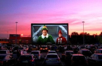 Lakeside Mall Extends Holiday Drive-In Movie Theatre With Christmas Classics