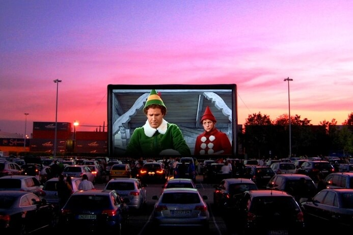 Lakeside Mall Creates NEW Holiday Drive-In Movie Theatre