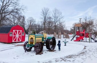 Have Fun On The Farm At Wolcott Mill Metropark