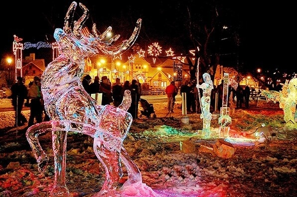Take A Trip To Frankenmuth For Zehnder's Snowfest