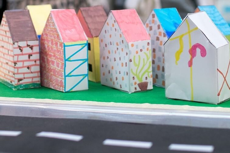 Maker Space: Cityscape Shapes For 1st-3rd Grades