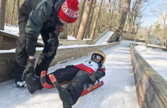 Learn To Luge At Muskegon Adventure Sports Park