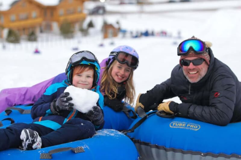 Winter Getaway Guide: Snow Tubing Edition