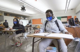 Students Rise As Detroit Public Schools Return To In-Person Learning