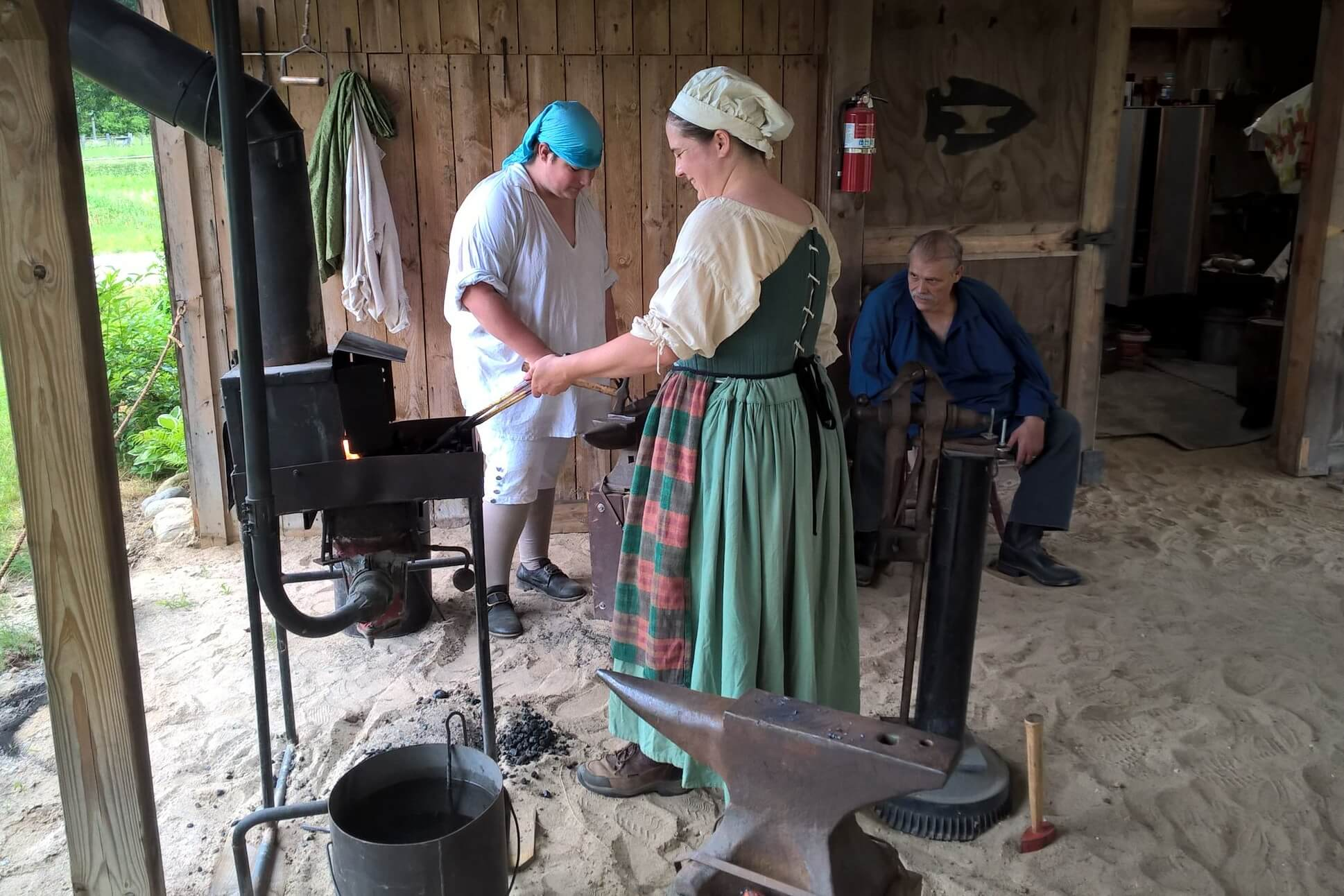 Early American Skills Demonstrations