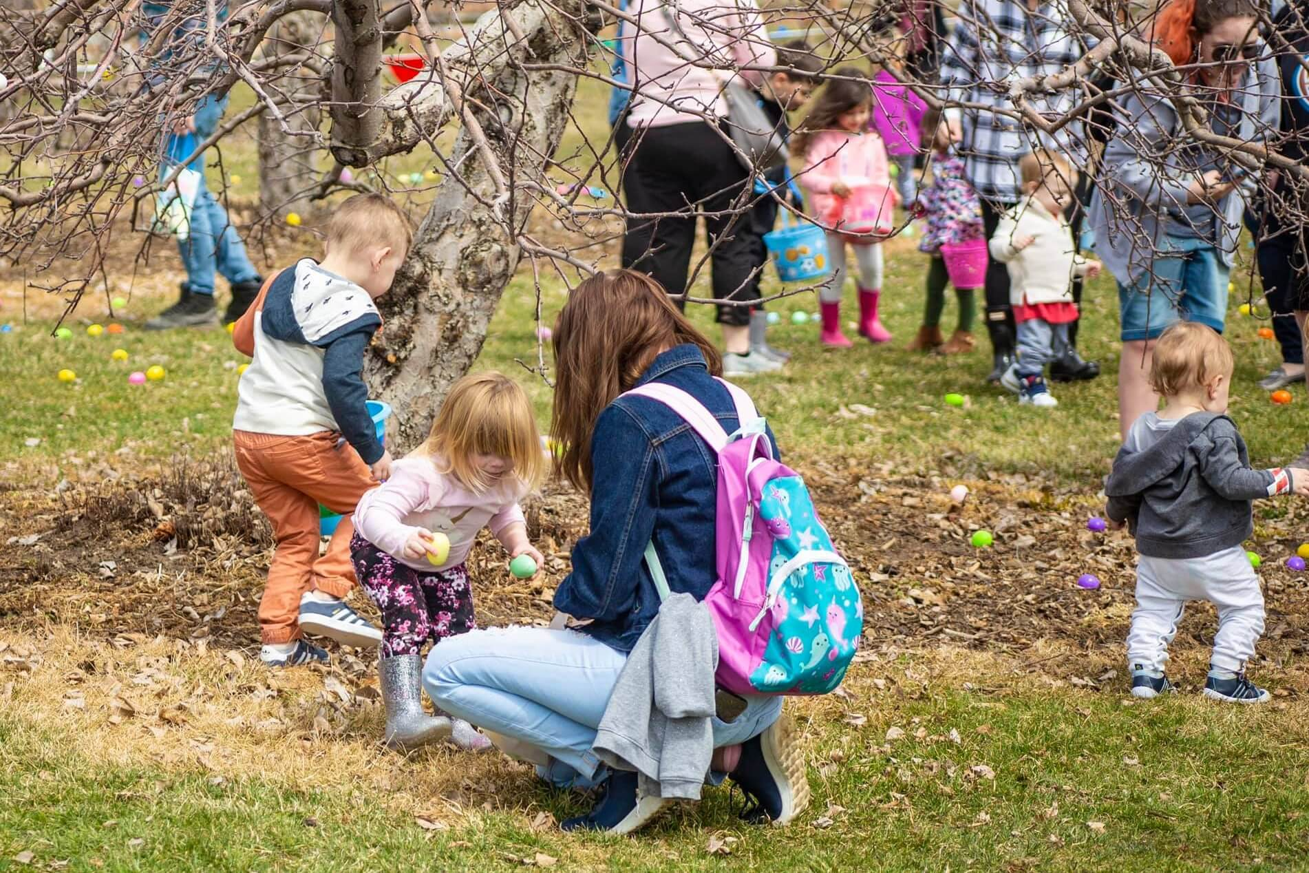 Celebrate Easter At Blake Farms With Easter Bunny, Egg Hunt + Brunch!