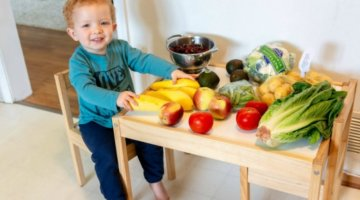 4 FUN & EASY WAYS TO START HEALTHY HABITS WITH KIDS