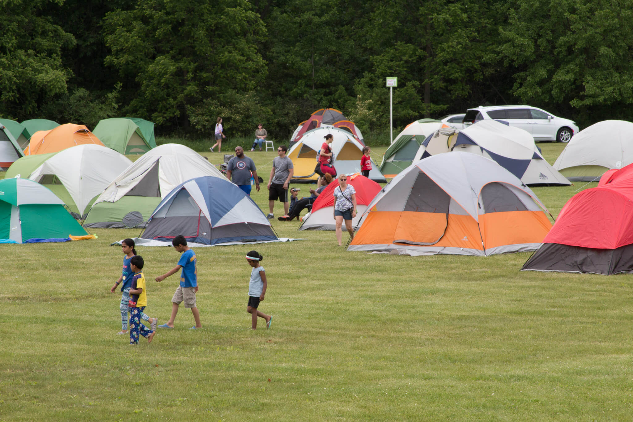 The Great Campout In Farmington Hills At Heritage Park Returns For 2021