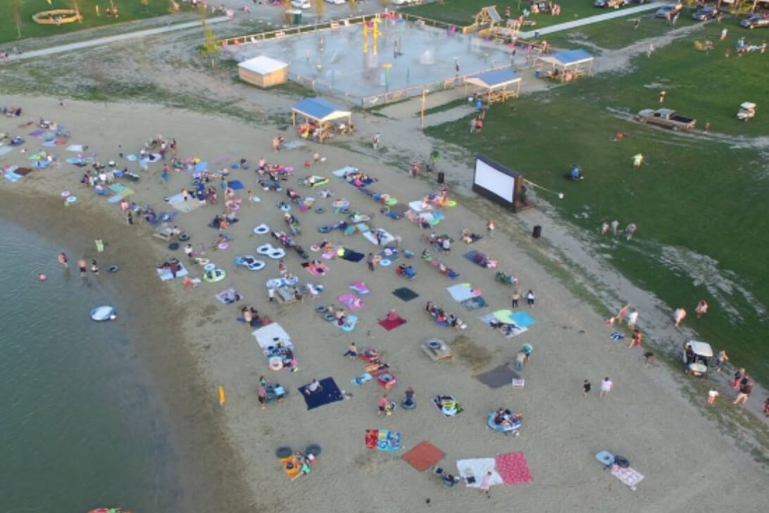 Movies At The Beach & Family Fun Nights