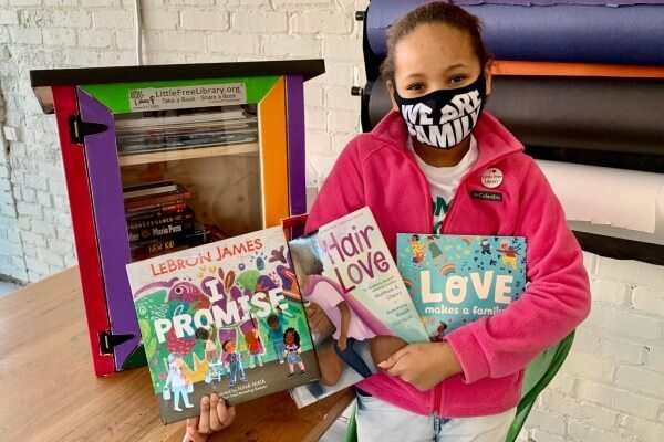 LITTLE FREE LIBRARY – GRAND OPENING