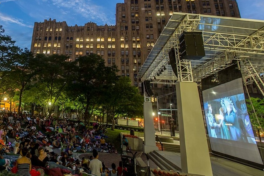 New Center Park Outdoor Movies