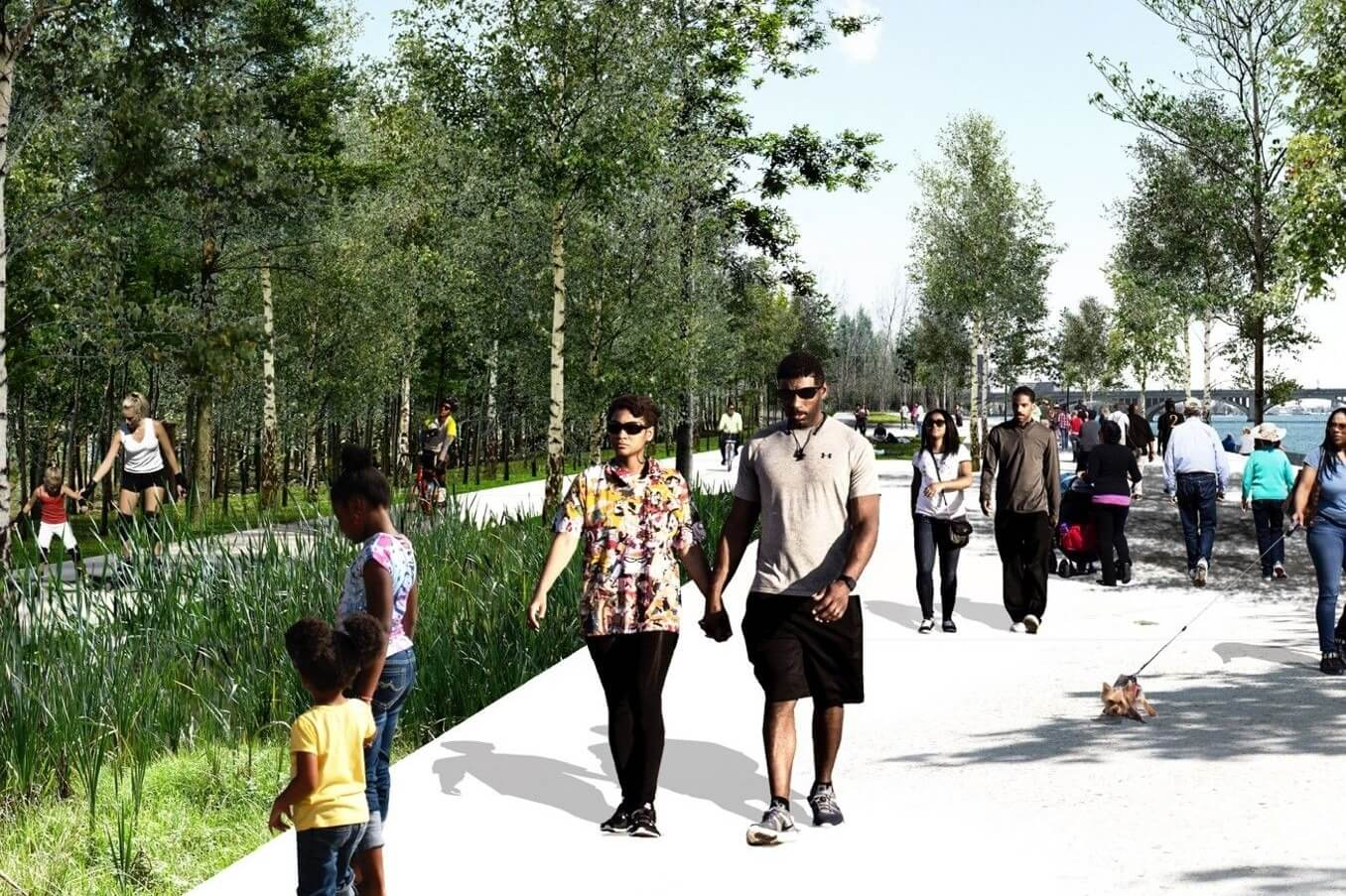 Detroit Riverfront Conservancy Breaks Ground On New Park